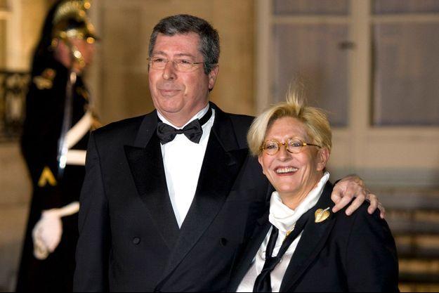 Patrick et Isabelle Balkany, en 2008.