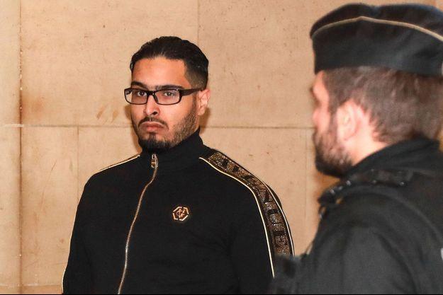 Jawad Bendaoud en novembre 2018 à Paris.