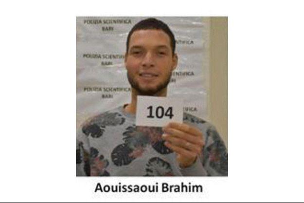 Brahim Aouissaoui, l'auteur de l'attentat à la basilique Notre-Dame à Nice.