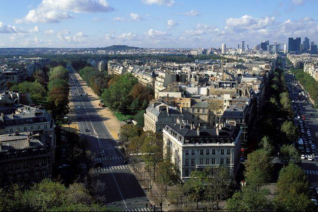 L'avenue Foch à Paris.