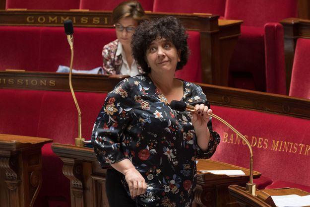 Frédérique Vidal, à l'Assemblée nationale.
