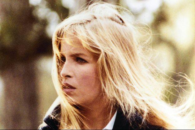 """Valentine Monnier dans le film """"Le bar du téléphone"""", en 1980."""