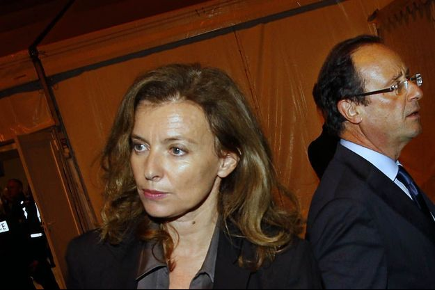 Valérie Trierweiler et François Hollande en novembre 2011.