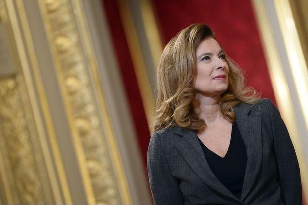 Valérie Trierweiler à l'Elysée, le 30 novembre dernier.