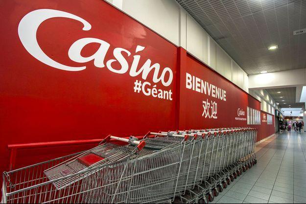 Un magasin de l'enseigne Géant Casino.