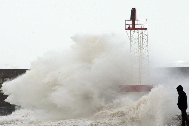 Des vents à Anglet, en novembre dernier.