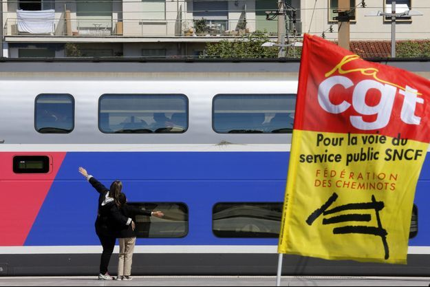Gare de Marseille, ce vendredi