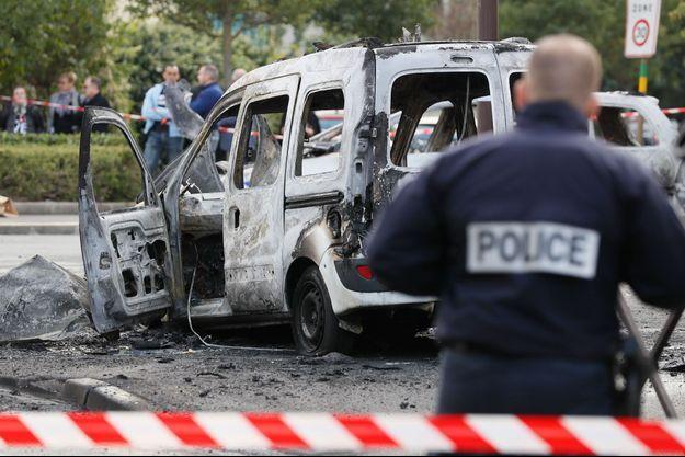 Quatre policiers avaient été blessés lors de l'attaque aux cocktails Molotov début octobre à Viry-Châtillon.