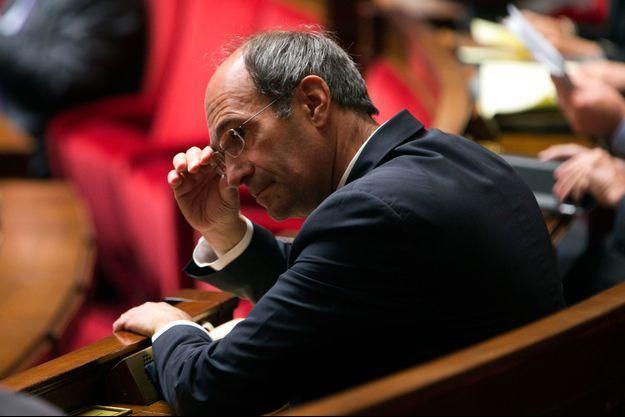 Eric Woerth, à l'Assemblée nationale, le 8 octobre 2013.
