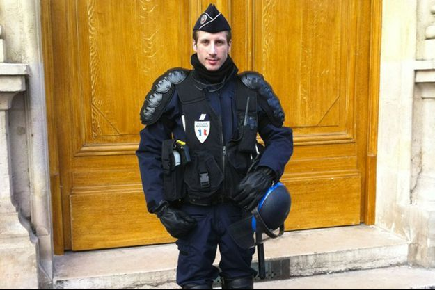 Xavier Jugelé est mort jeudi dans l'attentat des Champs-Elysées.