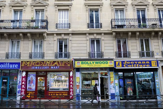 "Le quartier tamoul ""Little Jaffna"", dans le 10e arrondissement de Paris."