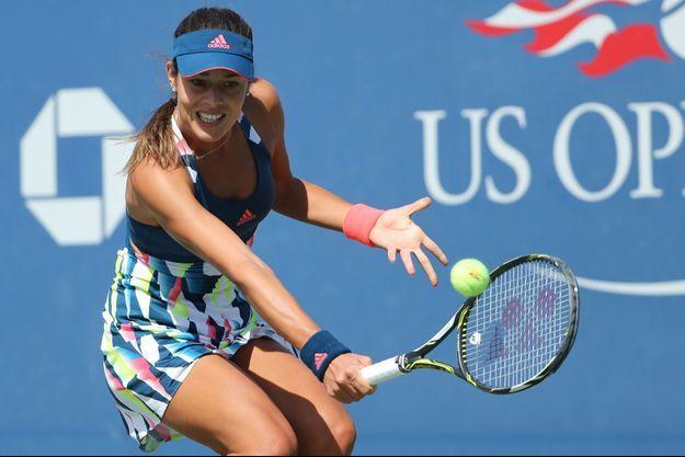 Ana Ivanovic, à l'U.S. Open en août dernier, son dernier match sur le circuit professionnel.