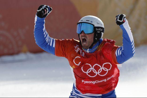 Pierre Vaultier a de nouveau remporté l'or olympique.