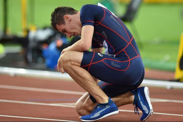Pierre-Ambroise Bosse, aux championnats du monde d'athlétisme, le 8 août dernier, à Londres.