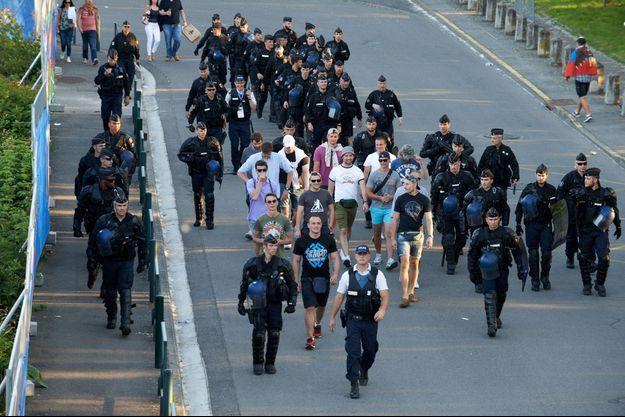 Les ultra-russes étaient très encadrés à Toulouse