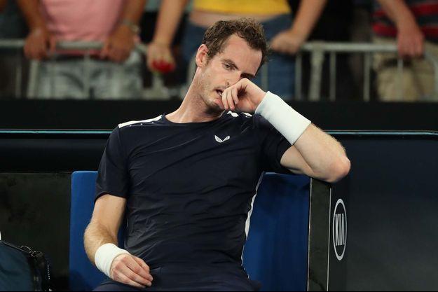 Andy Murray après sa défaite au premier tour de l'Open d'Australie.