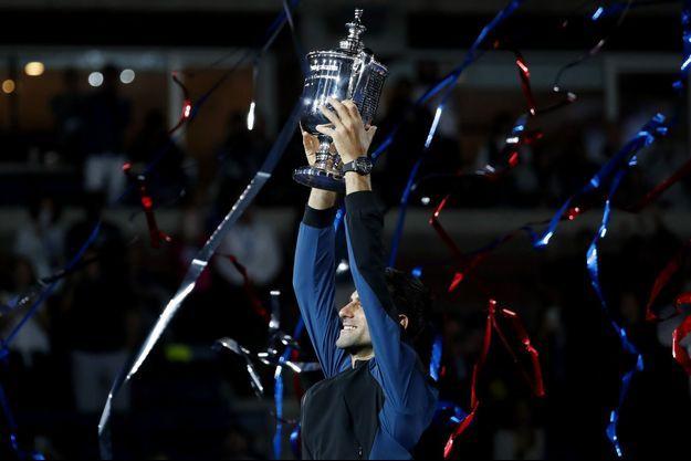 Novak Djokovic a remporté l'US Open dans la nuit de dimanche à lundi.