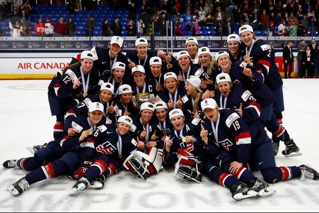 Les hockeyeuses américaines ont remporté la compétition vendredi.