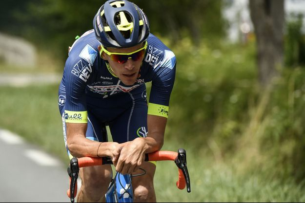 Yoann Offredo, 30 ans, participe à son premier Tour de France.