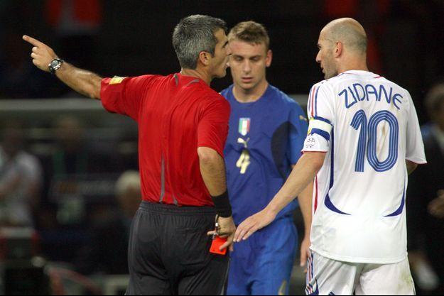 vidéo Zidane Materazzi