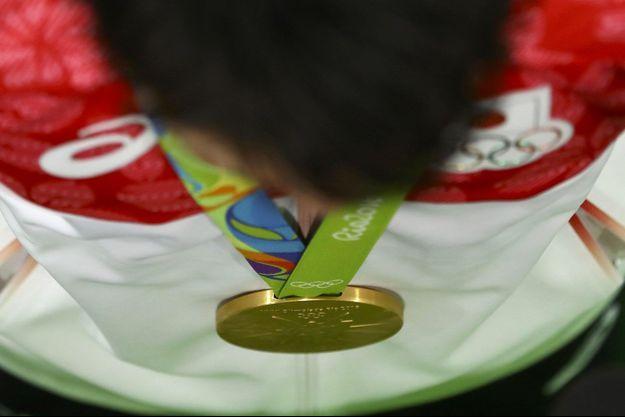 Le Japonais Kohei Uchimura a remporté l'or en gymnastique artistique, le 10 août. Il recevra une prime de 44 200 euros.