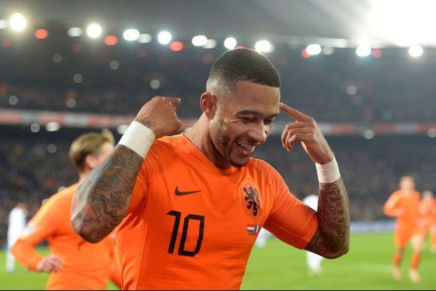 Memphis Depay a marqué le deuxième but néerlandais.