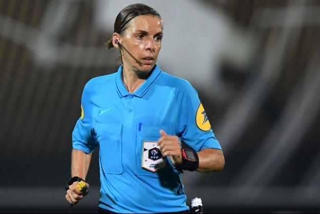 L'arbitre française Stéphanie Frappart