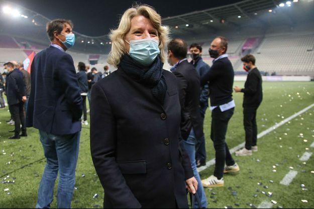 Brigitte Henriques, ici au Jean Bouin début juin.