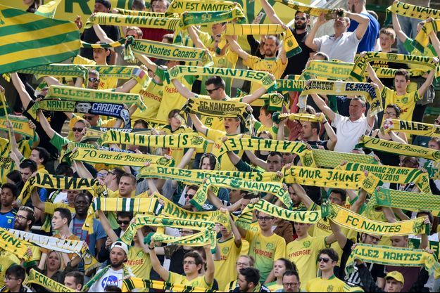 Supporters du FC Nantes.