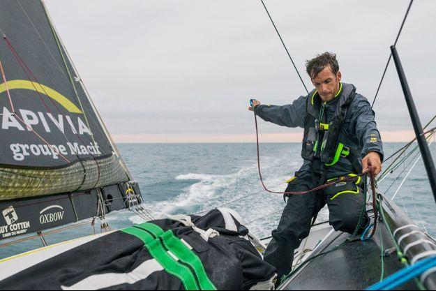 Charlie Dalin a choisi l'écurie de course au large de François Gabart, Mer Concept, basée à Concarneau.