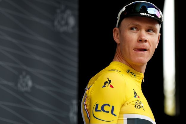 Chris Froome sur le Tour de France 2017.