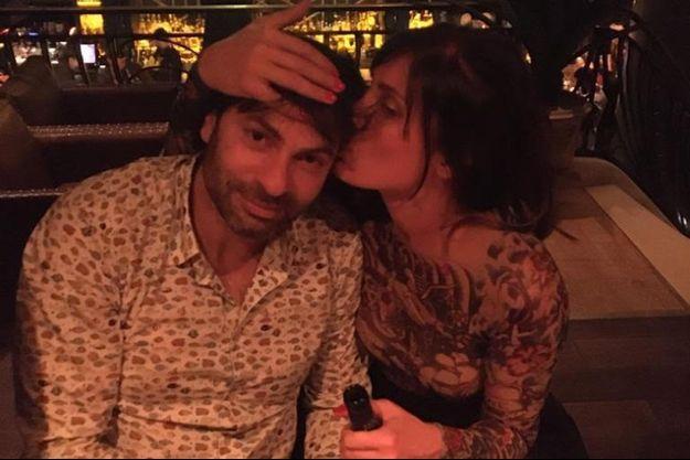 Christophe Dominici et sa femme Loretta Denaro