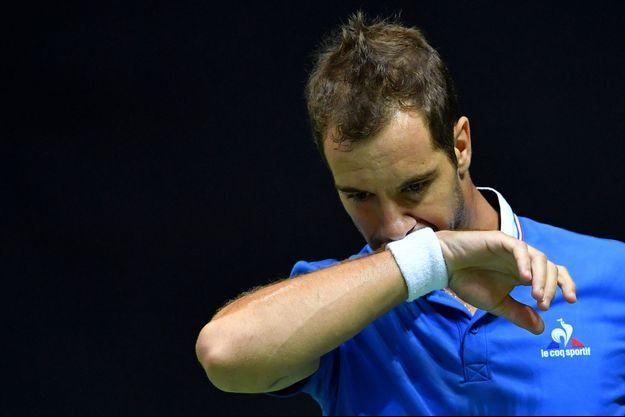 Richard Gasquet a été battu par Marin Cilic en demi-finale de la Coupe Davis.