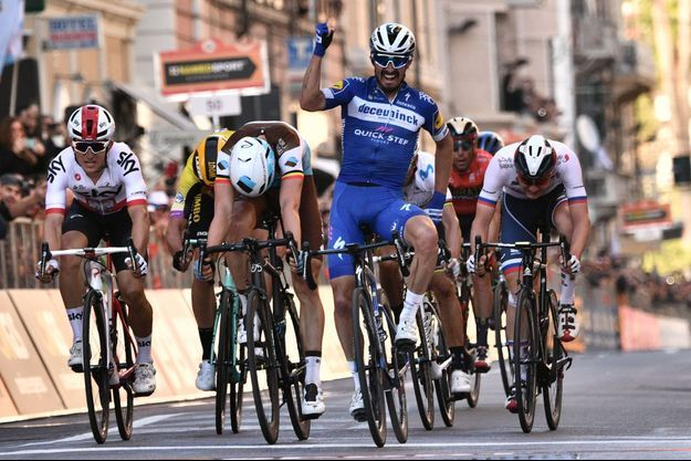 Julian Alaphilippe a remporté le sprint final.