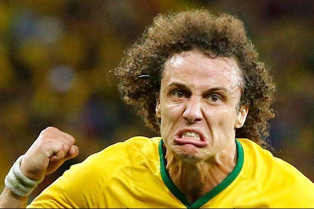 David Luiz, après son but contre la Colombie en quarts de finale.