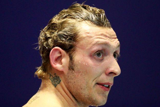 Le nageur Amaury Leveaux se lâche dans un livre à paraître mercredi.