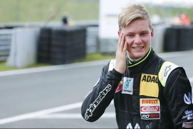 Mick Schumacher sur le circuit d'Oschersleben, en avril dernier.