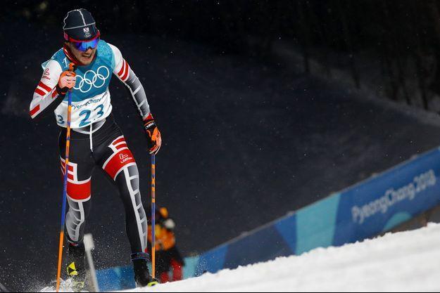 Dominik Baldauf lors des JO de Pyeongchang.