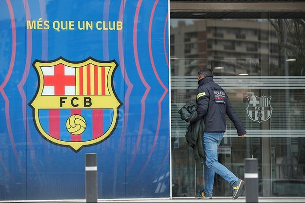 Le siège du FC Barcelone.