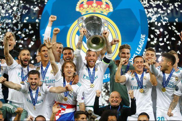 Le Real Madrid a remporté sa troisième Ligue des Champions consécutive.
