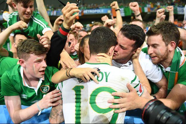 Brady a marqué le but de la victoire irlandaise