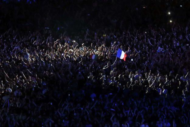 La foule a répondu présente pour le grand show de David Guetta