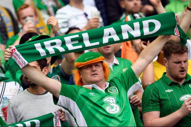 Les supporters irlandais.