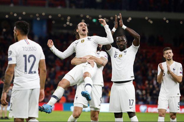 Antoine Griezmann a marqué le deuxième but des Bleus.