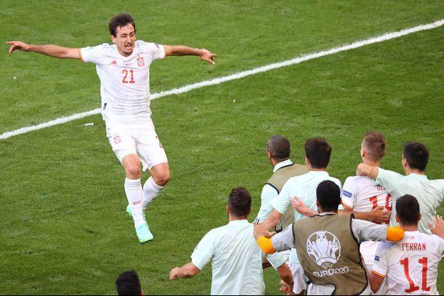 Mikel Oyarzabal a propulsé la Roja en quarts de finale.