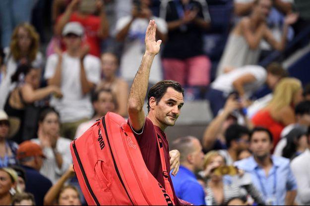 Roger Federer a été éliminé dès les huitièmes de finale de l'US Open.
