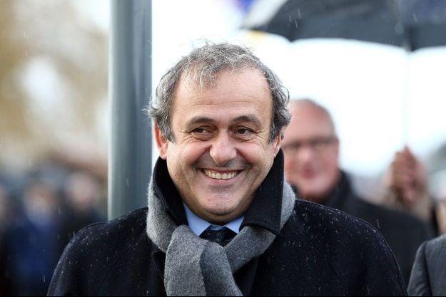 Michel Platini en décembre 2014 en Belgique.