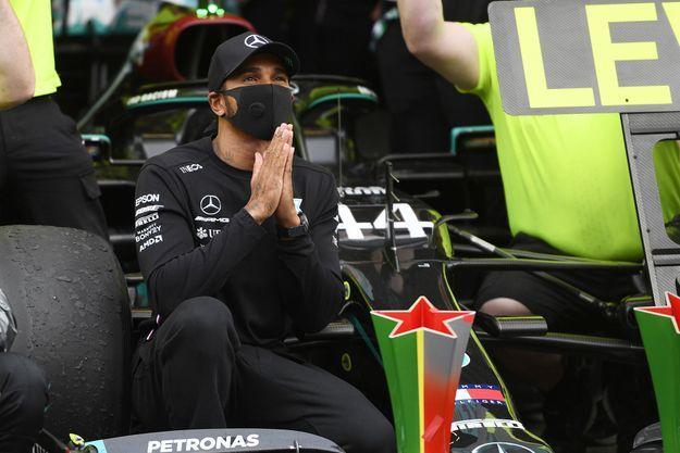 Lewis Hamilton a remporté le 92 Grand prix de Formule 1 de sa carrière.