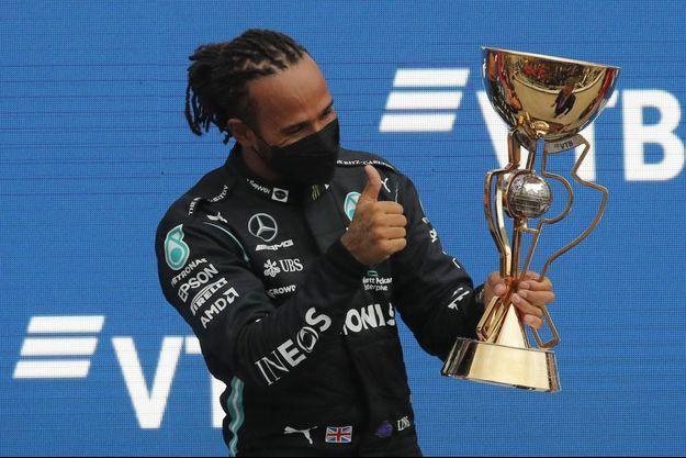 Lewis Hamilton s'est imposé au finish en Russie.