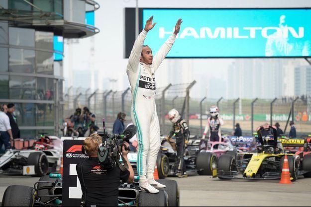 Lewis Hamilton a remporté le Grand prix de Chine 2019.